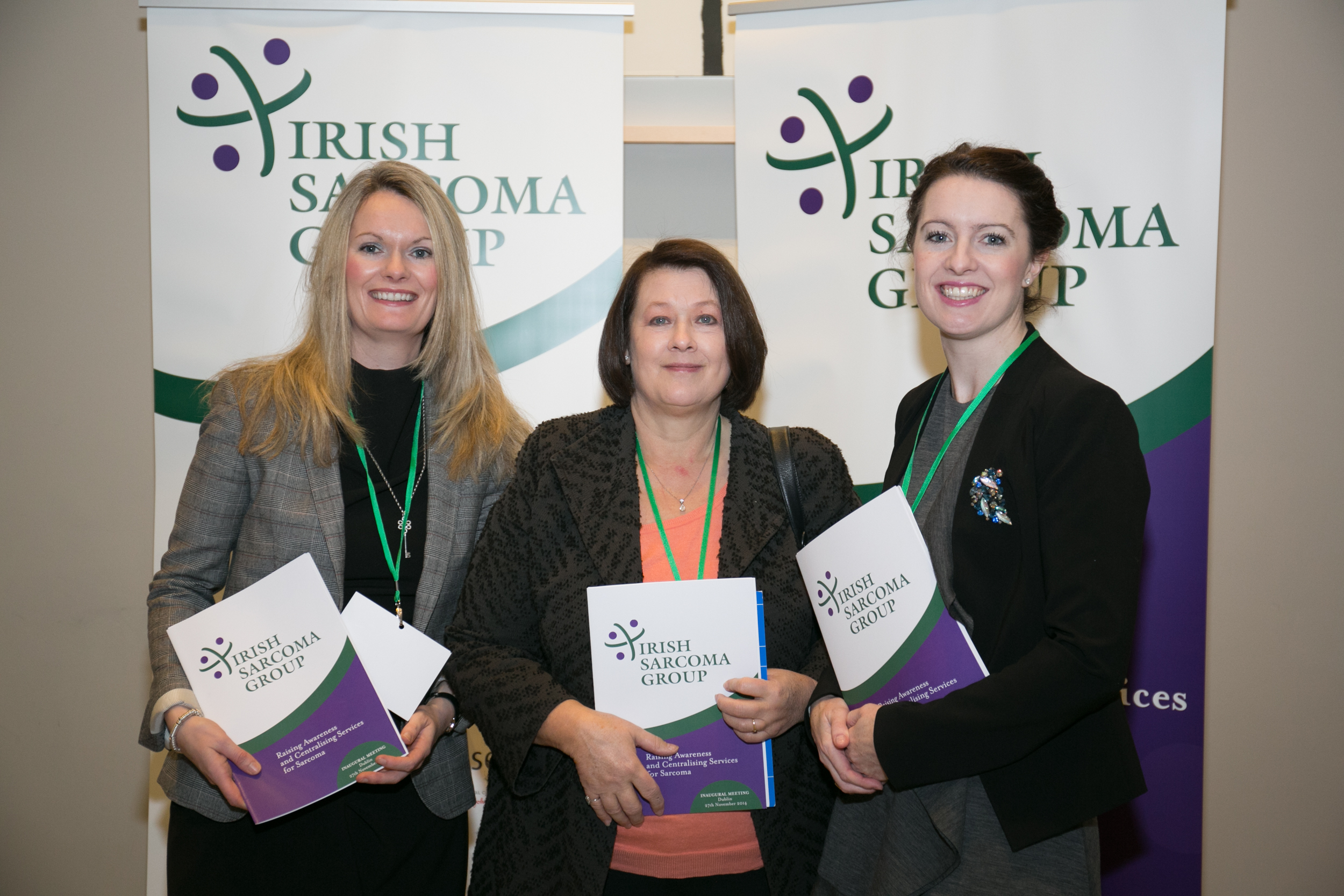 Dr Lorrian Walsh, Radiation Oncologist, Limerick Hospital. Dr Catriona O'Sullivan, Paediatric Radiation Oncologist. Dr Jennifer Gilmore, Radiation Oncologist, Cork University Hospital