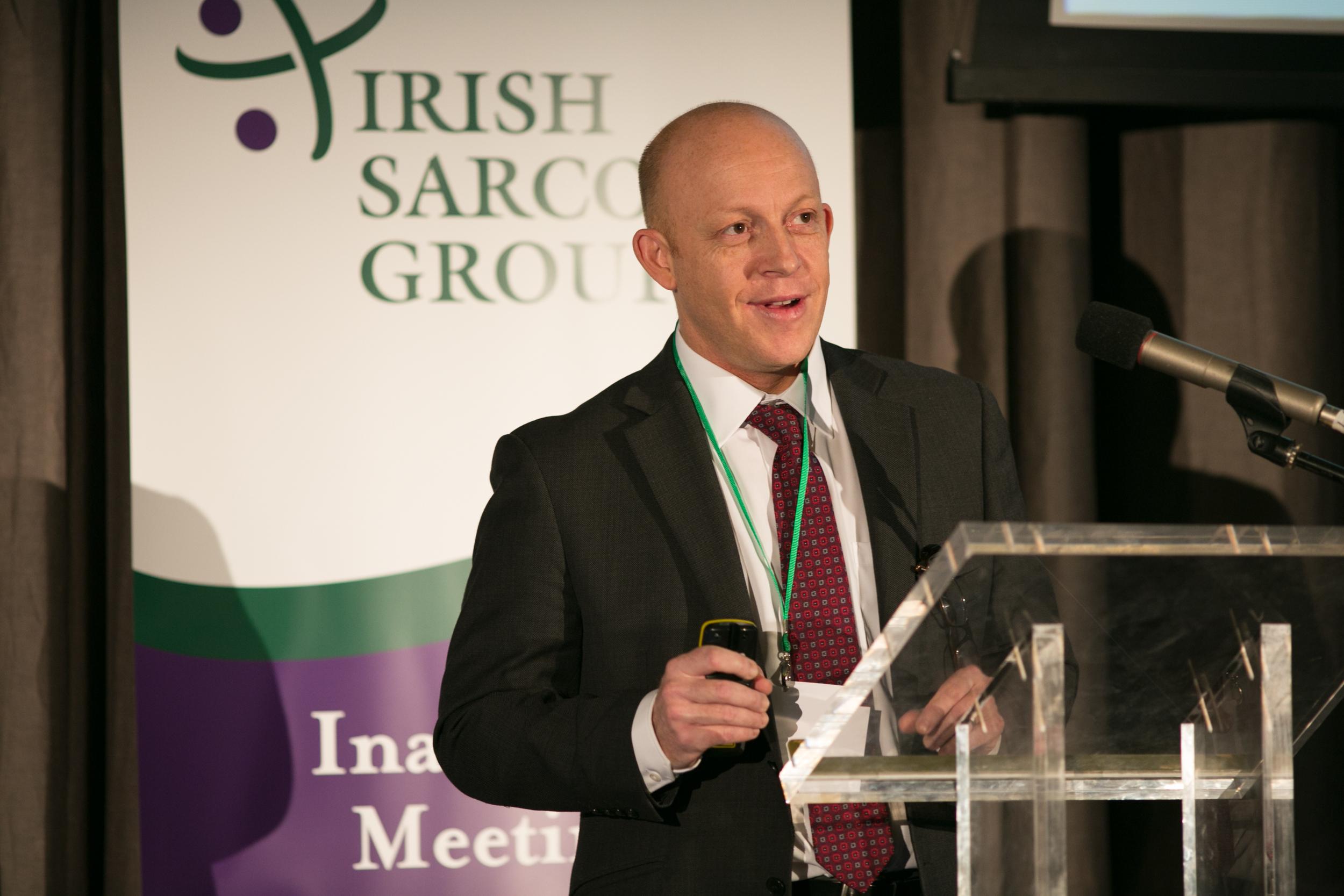 Dr Charles Gillham, Radiation Oncologist, St Luke's Radiation Oncology Network.