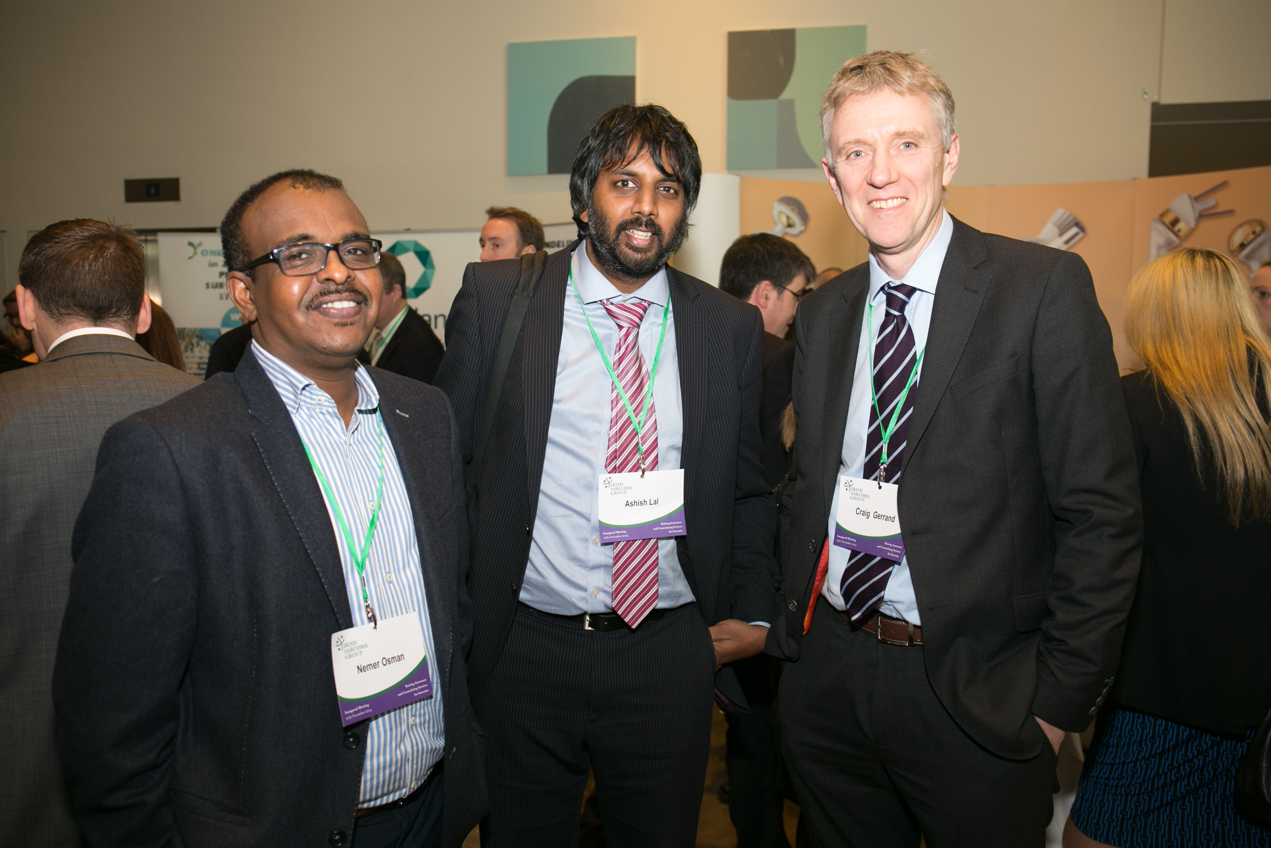 Dr Nemer Osman, Medical Oncologist, Limerick Hospital. Mr Ashish Lal, Orthopeadic Surgeon, Limerick Hospital. Mr Craig Gerrand, Orthopaedic Surgeon, Newcastle